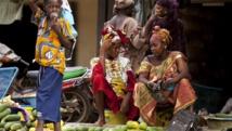 La grève de 48h initiée par l'UNTM a gêné l'approvisionnement de la capitale malienne en denrées. Getty Images