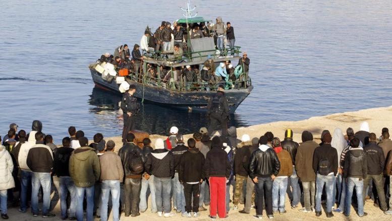 Plus de 3500 personnes ont été sauvées, essentiellement par la marine italienne, dans le canal de Sicile depuis vendredi