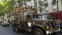 Une reconstitution historique à Paris pour fêter la Libération, le 24 août 2014. REUTERS/John Schults