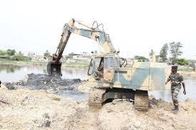 L'armée mise à contribution pour la réfection du Stade Léopold Sédar Senghor