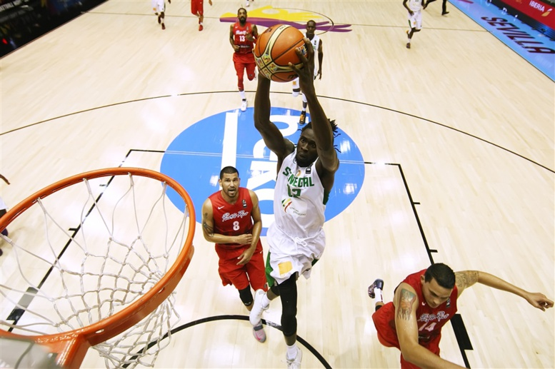 Coupe du monde basket 2014 : Sénégal bat Porto-Rico 82-75