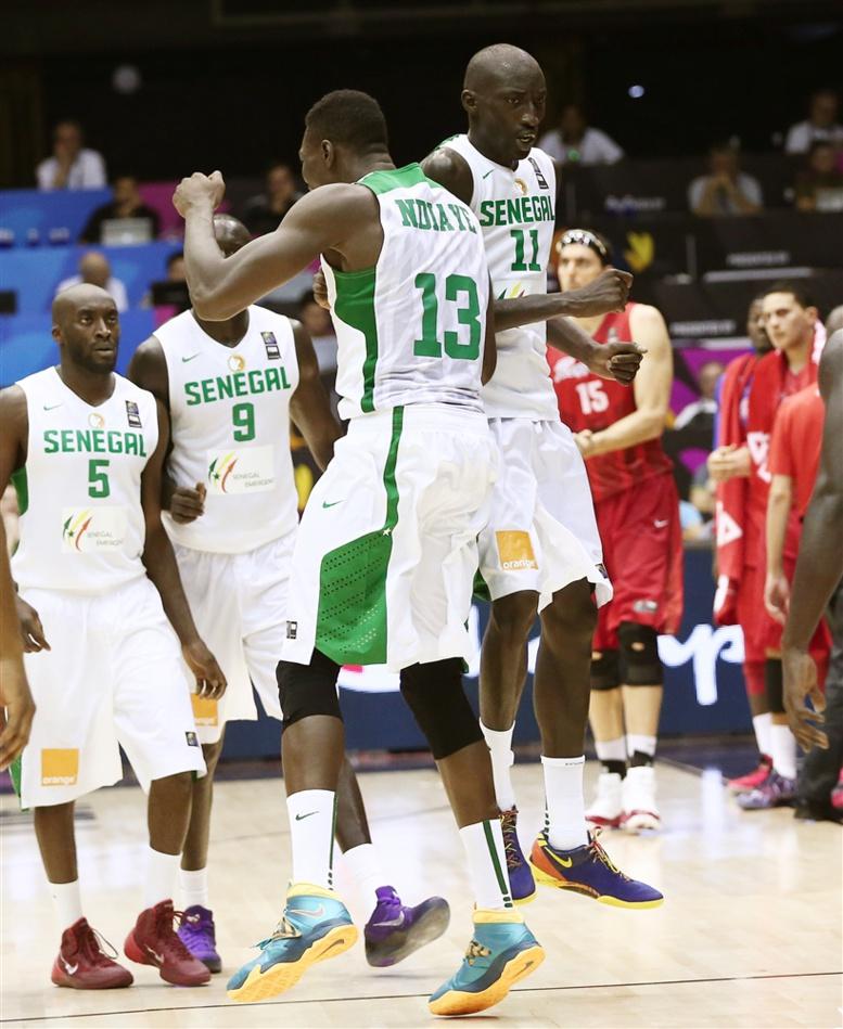 Basket- Coupe du Monde 2014: Sénégal vs Porto Rico (82-75) en chiffres