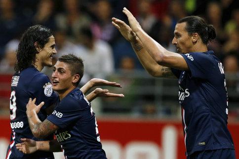 Le Psg étrille Saint-Etienne  (5-0)