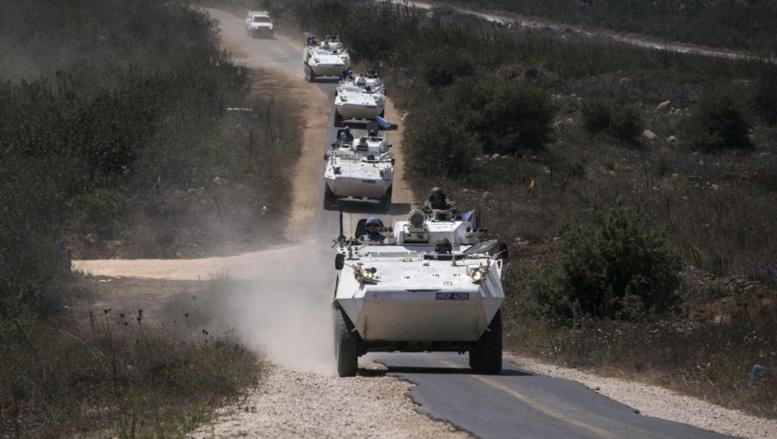 Des blindés des Nations unies sur le plateau du Golan, le 31 août 2014. REUTERS/Baz Ratner
