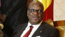 Le président malien Ibrahim Boubacar Keïta (IBK), le 18 janvier 2014 à Alger. REUTERS/Louafi Larbi