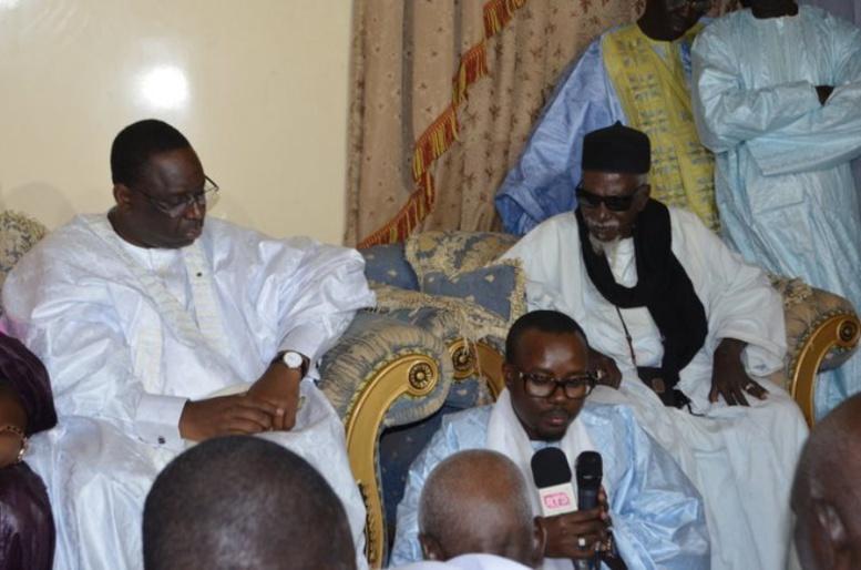 Rencontre discrète entre le Président Sall et le khalife général des mourides, hier
