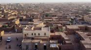 La région d'Agadez, dans le nord du Niger, est un point de passage pour de nombreux migrants, et donc un lieu à surveiller de près pour les autorités sanitaires. Getty Images