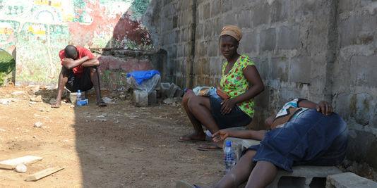 A Monrovia, des malades d'Ebola livrés à leur sort