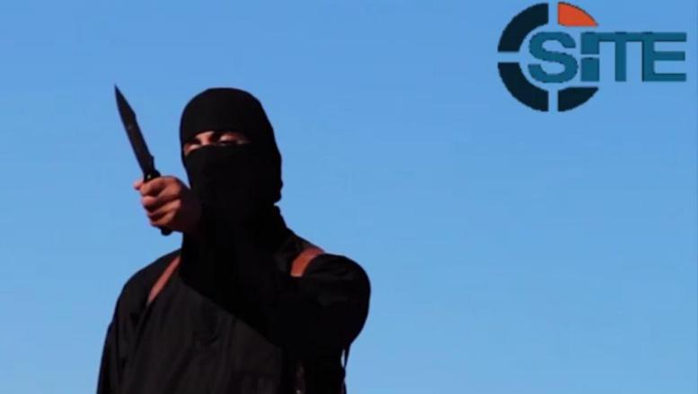Capture d'écran de la vidéo de l'exécution de l'otage britannique David Haines diffusée par le SITE, organisme de surveillance des groupes jihadistes, le 13 septembre 2014. AFP/Ho/Site Intelligence Group