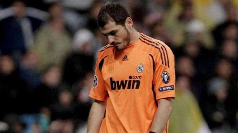 Sale temps pour Casillas