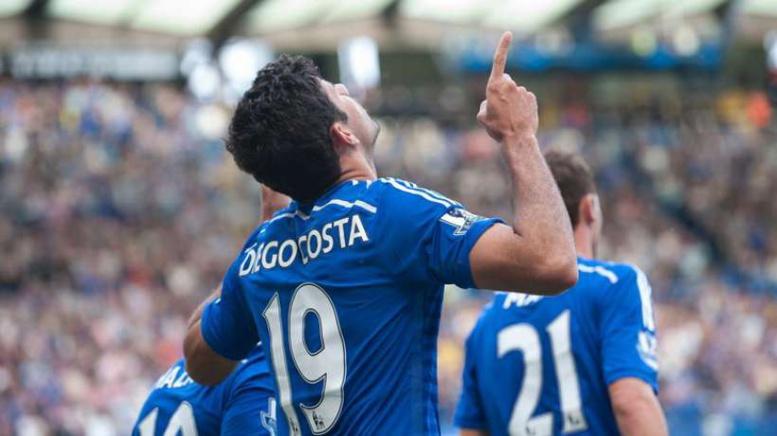 Diego Costa fait des merveilles à Chelsea