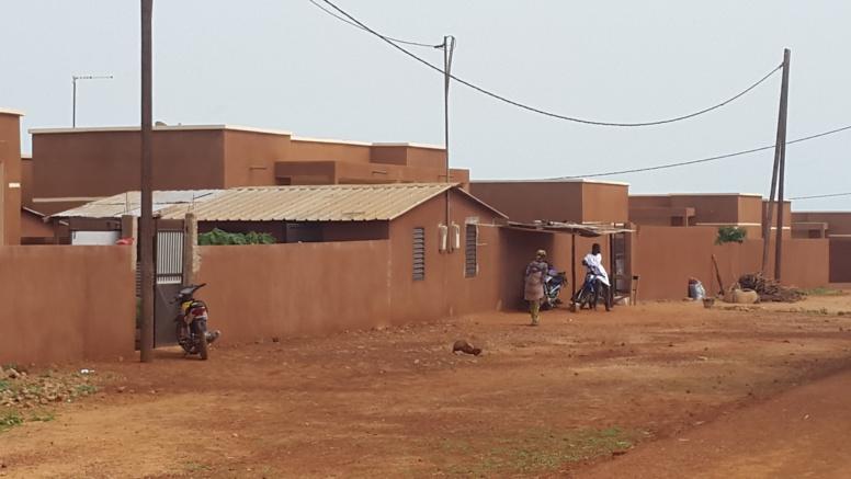 Des villas de recasement du village de Badiate