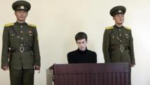 Matthew Miller, 26 ans, a été condamné pour avoir déchiré son visa de tourisme et d'avoir demandé l'asile au régime de Pyongyang.