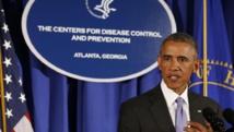 Barack Obama lors de la présentation du plan d'action américain à Atlanta, le 16 septembre 2014. REUTERS/Larry Downing