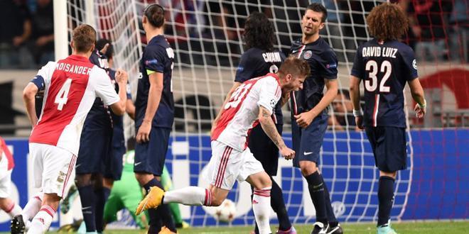 Ligue des Champions - Le PSG endormi à l'Ajax Amsterdam