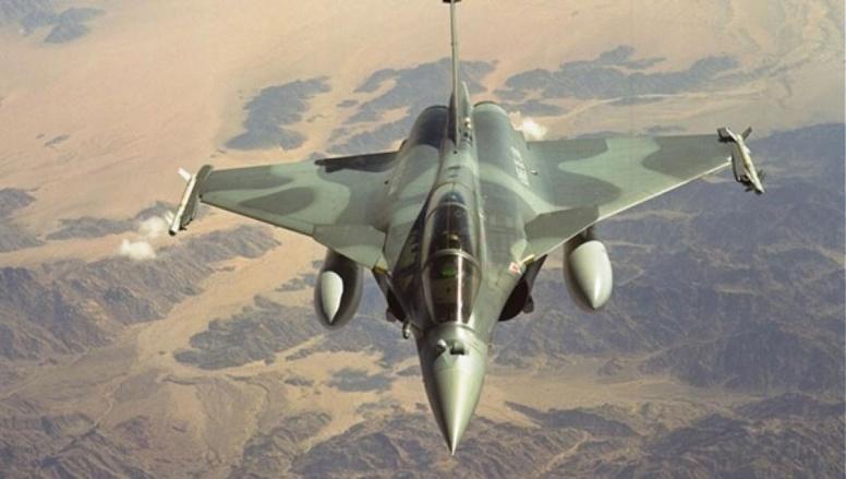 Un avion Rafale de l'armée française. Dassault Aviation