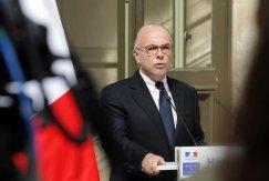 Le ministre de l'Intérieur Bernard Cazeneuve, lors d'une conférence de presse, le 22 septembre 2014 à ParisLe ministre de l'Intérieur Bernard Cazeneuve, lors d'une conférence de presse, le 22 septembre 2014 à Paris