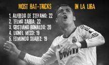 Liga : machine à triplés, Cristiano Ronaldo (Real Madrid) fond sur Zarra et Di Stefano