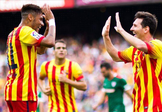Barca-Suarez : « Pas de jalousie entre Messi et Neymar »