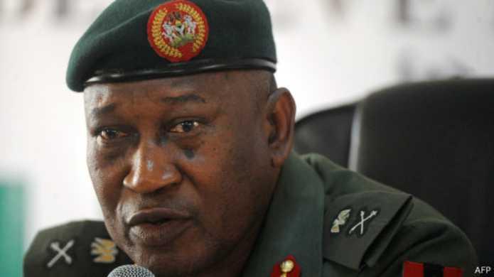 Chris Olukolade, porte-parole du ministère de la Défense du Nigeria.