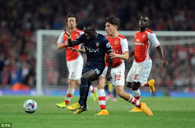 League Cup- 8es de finale- Arsenal- Southampton (1-2) : Sadio Mané réussit  son baptême du feu