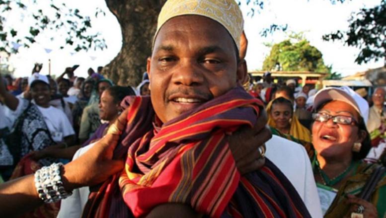 lilou Dhoinine, le président des Comores, a reporté les élections législatives et locales d'un mois. Ibrahim Yossouf /AFP