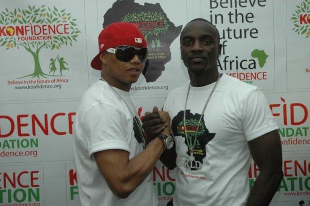 Akon et El Hadj Diouf prônent le consommé  local