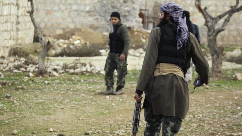 Des combattants du Front al-Nosra en Syrie. REUTERS/Ammar Abdullah