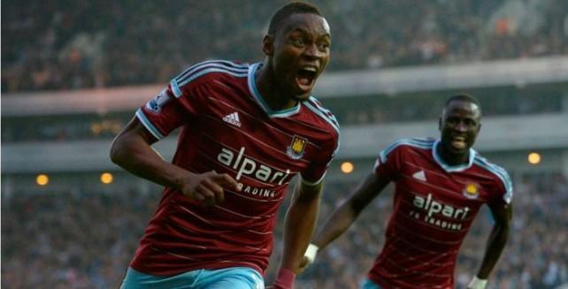 West Ham : Et de 3 pour Diafra Sakho