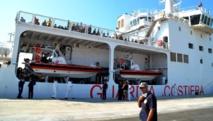 Mazéni et Abdoulaye, migrants, mineurs, venus d'outre-Méditerranée