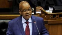 Le président sud-africain Jacob Zuma est mis en cause dans une affaire de pots-de-vin liée à la vente d'armes à l'Afrique du Sud par la société française Thales. REUTERS/Sumaya Hisham/Pool