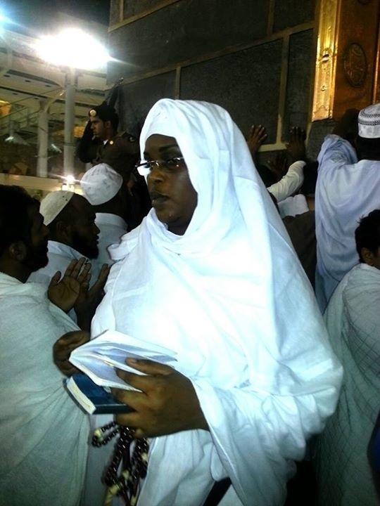 La première dame à la Mecque