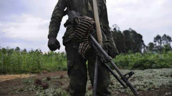 De nombreux groupes armés sont toujours actifs dans l'est de la RDC.