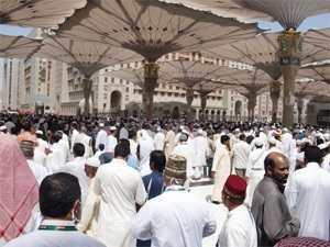Pélerinage 2014: des centaines de milliers de pèlerins en prière sur le Mont Arafat