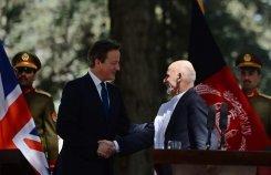 Afghanistan: Cameron à Kaboul, le président Ghani remercie les soldats de l'Otan