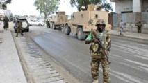 L'Amisom est patrouille a Mogadiscio