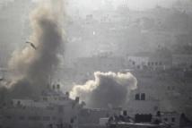 A la frontière turque, les djihadistes reculent après des frappes aériennes