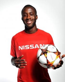 Yaya Touré, nouvel ambassadeur de Nissan