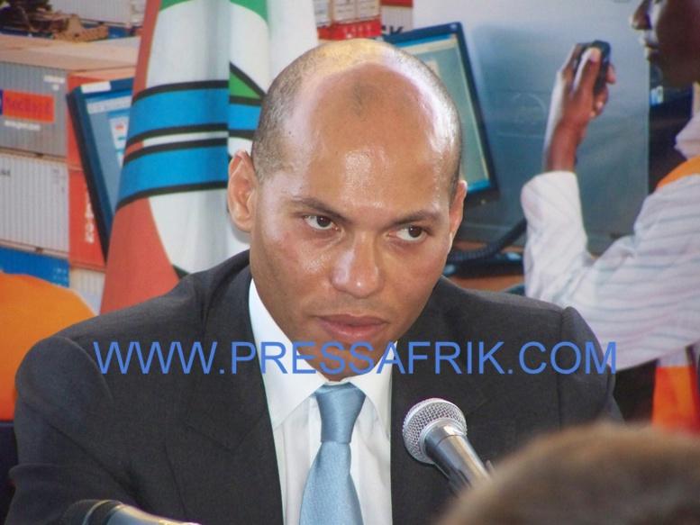 Karim Wade commence à suer avec la comparution de Me Patricia Lake Diop (photo archives)