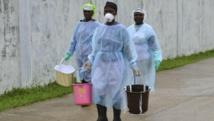 Les grévistes demandent notamment des primes spécifiques et des équipements de protection. REUTERS/James Giahyue