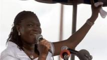 Simone Gbagbo doit comparaître à partir du 22 octobre devant la cour d'assises d'Abidjan pour atteinte à la sûreté de l'Etat. (Photo : AFP)