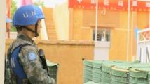 Soldat de la Minusma, la Mission de l'ONU au Mali. RFI/David Baché