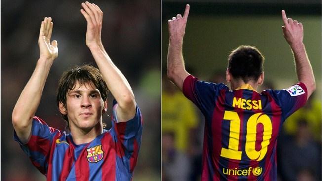 Messi célèbre ses 10 ans au Barca