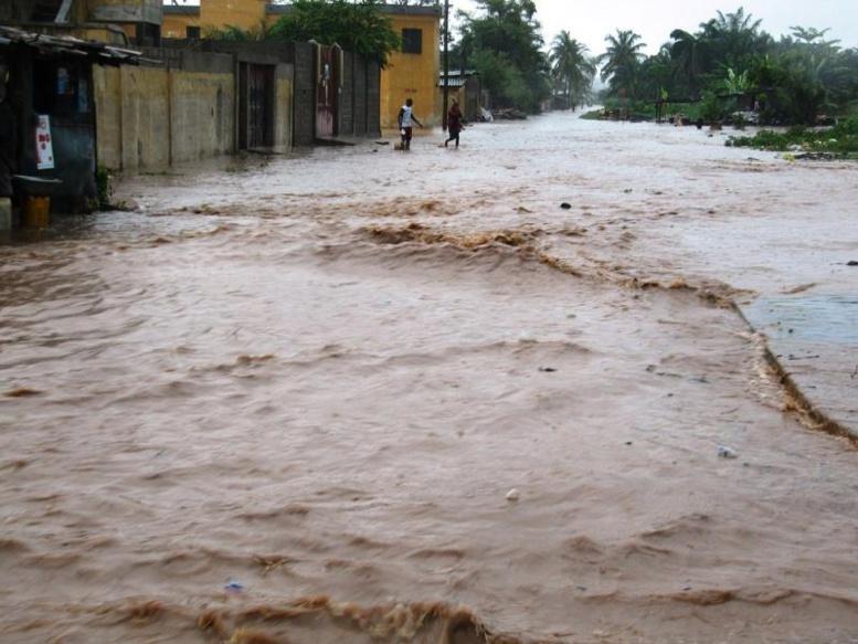Lendemain de pluie à Tamba : beaucoup, beaucoup de dégâts, huit blessés