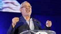 Rached Ghannouchi, chef du parti islamiste Ennahda, lors d'un meeting à Tunis, le 23 septembre 2014. REUTERS/Anis Mili