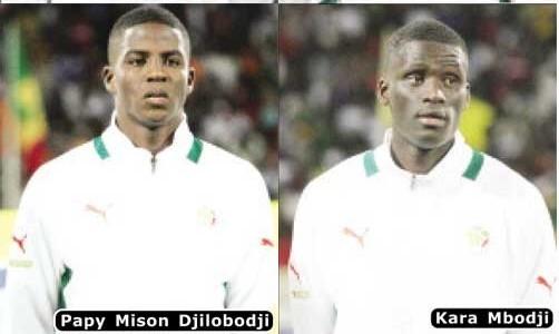 Equipe nationale : kara Mbodji et Papy Djilobodji «à l'aise avec les deux systèmes»