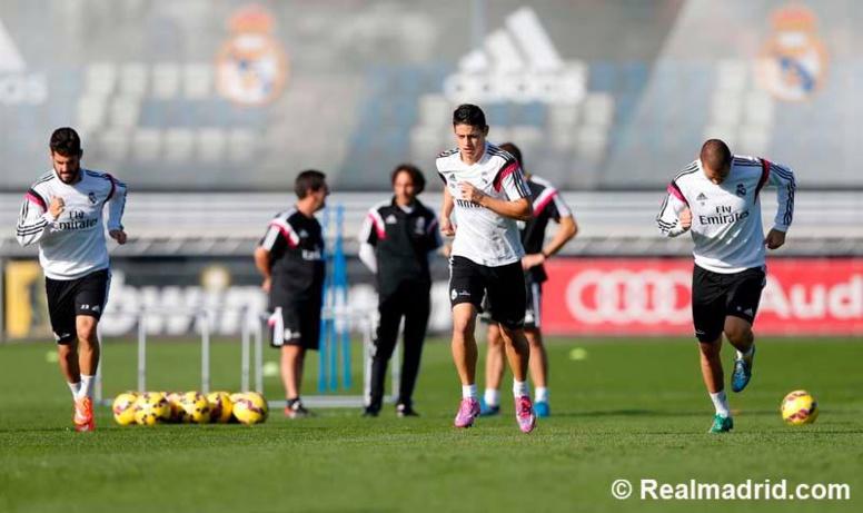 Images Liga: contre Barcelone ce samedi, comment le Real prépare le Clasico ?