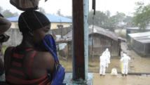 Dans les rues de la capitales du Liberia, Monrovia, le pays le plus touché par l'épidémie d'Ebola, le 17 août 2014. REUTERS/2Tango