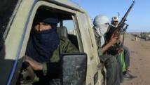 Groupe de soldats touaregs du MNLA dans la région de Kidal, le 4 février 2013. REUTERS/Cheick Diouara