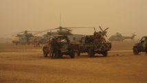 Forces spéciales maliennes et françaises à Gao, printemps 2012. RFI/Olivier Fourt